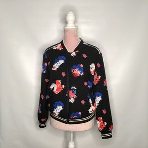 Vince Camuto floral bomber.